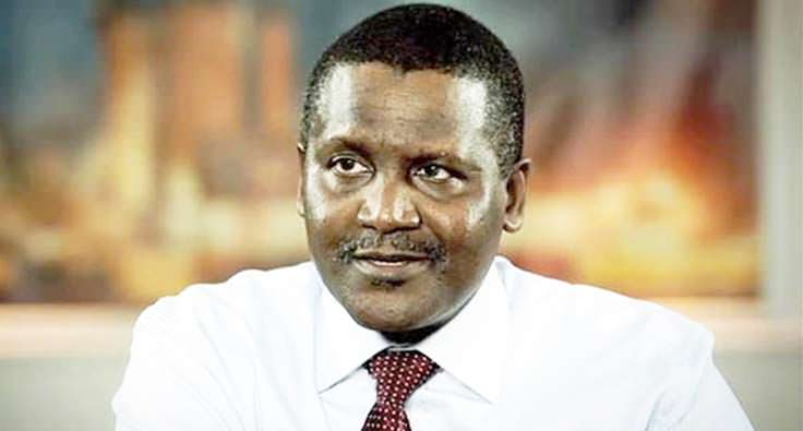 Aliko Dangote - richest people in africa