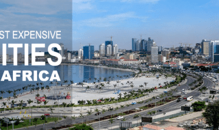 Most Expensive Cities in Africa