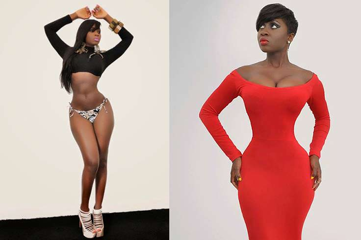 Princess Shyngle Curves - Top 20 Most Curvy African Celebrities of 2017