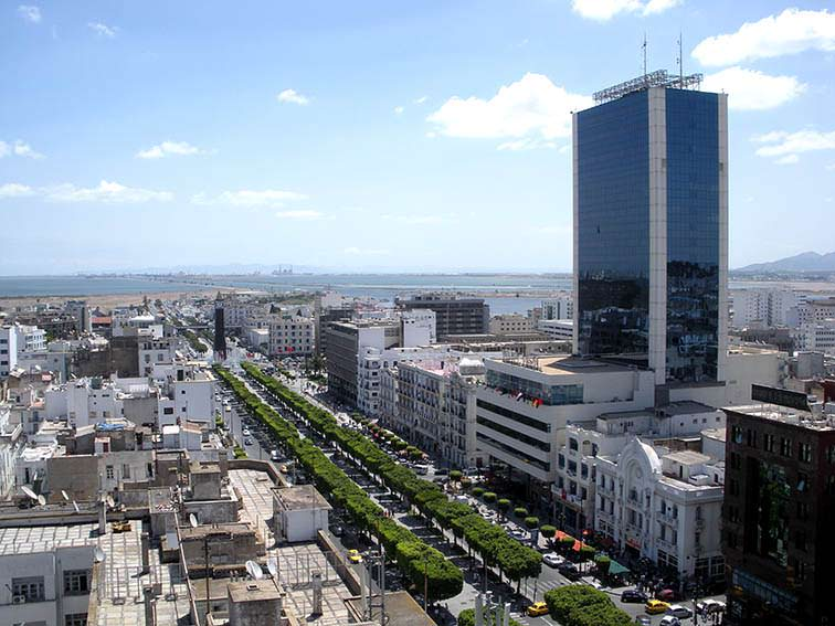 Tunis-City-Avenue-Habib-Bourguiba-Tunisia