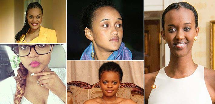 Most Beautiful Daughters of African Presidents