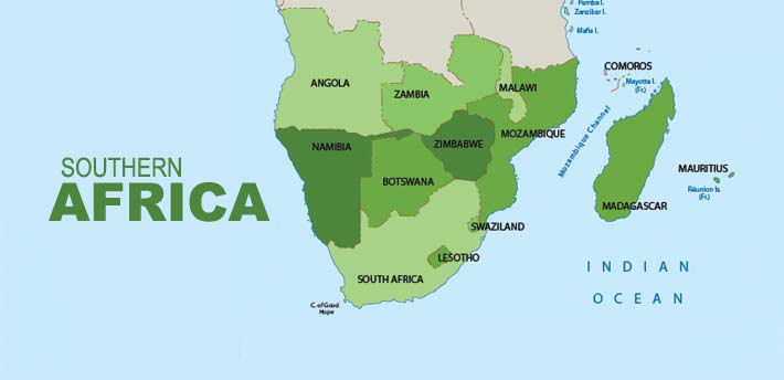 Southern africa the 10 southern african countries gumiabroncs Choice Image