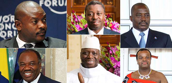 Top 10 Youngest African Presidents 2016