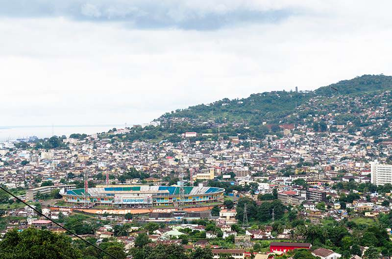 Freetown Sierra Leone Skyline