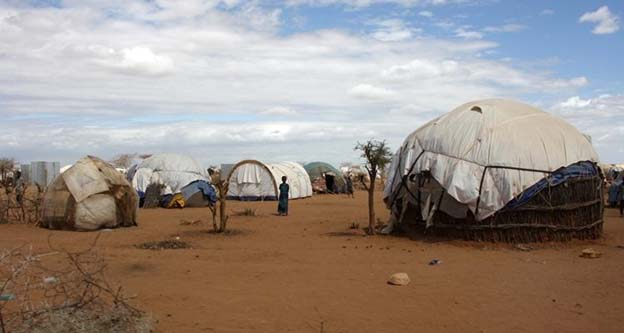 Dabaab the biggest refugee camp in Africa