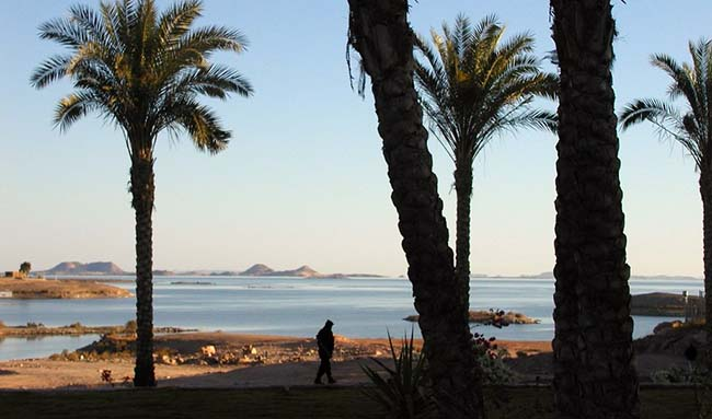 Lake Nasser 8th biggest lake in Africa