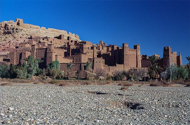 Aït Benhaddou - popular series in Africa