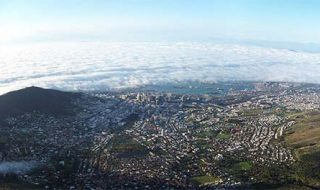 Cape Town is the 2nd biggest city in South Africa