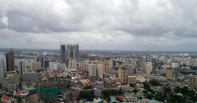 Dar es Salaam biggest city in Tanzania