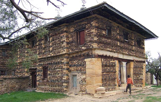 Debre Damo monastery church