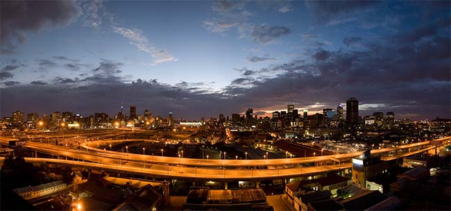 Johannesburg biggest city in South Africa