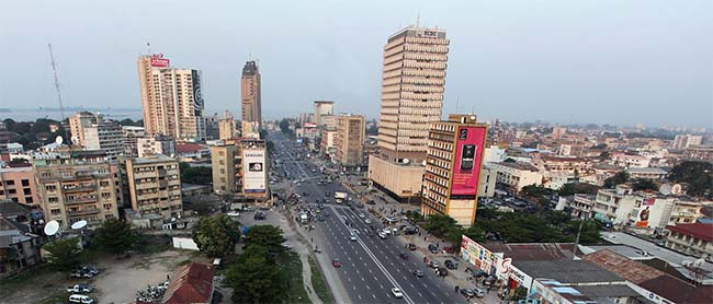 Kinshasa biggest city in the Democratic Republic of Congo - biggest cities in Africa