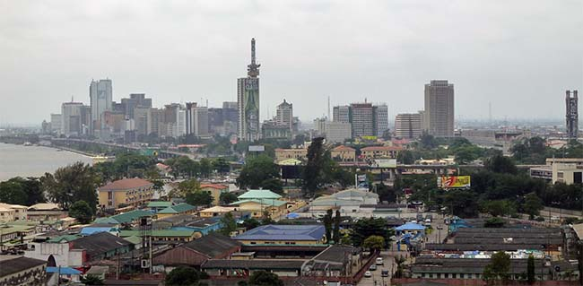 Lagos is the biggest city in Africa