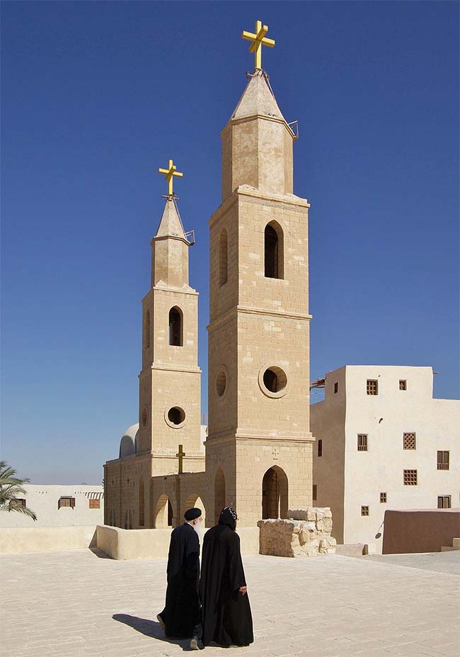 Monastery of Saint Anthony, Egypt - Oldest Church in Africa
