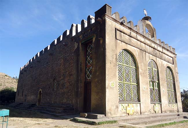 Old Church of Our Lady Marion of Zion oldest churches in Africa