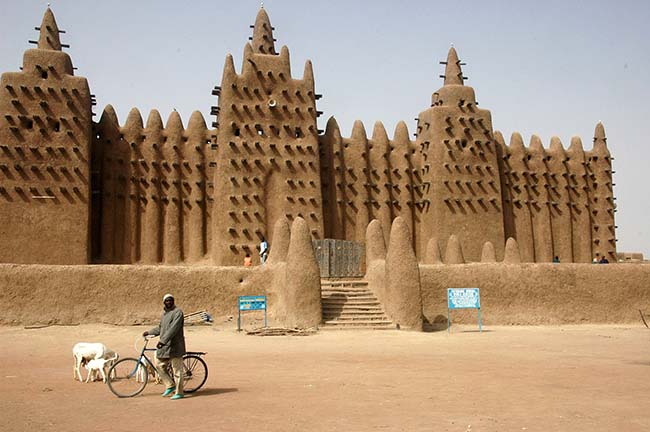 Djenne great mud mosque