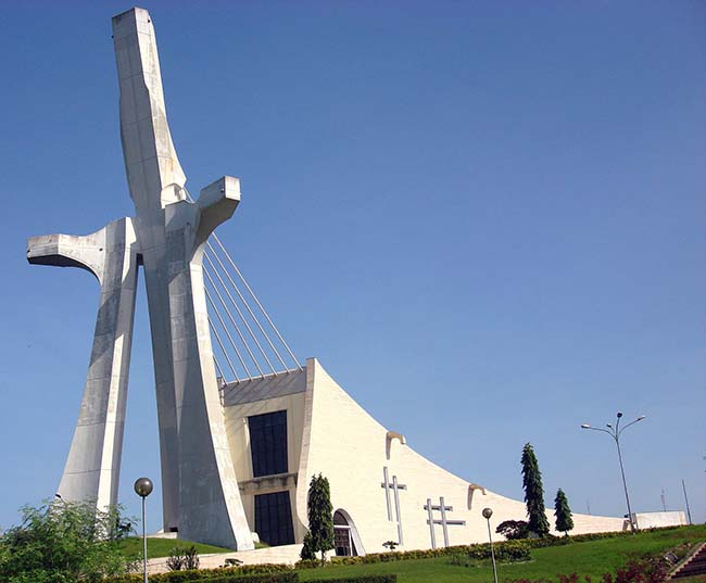 Saint Paul Cathedral in Abidjan