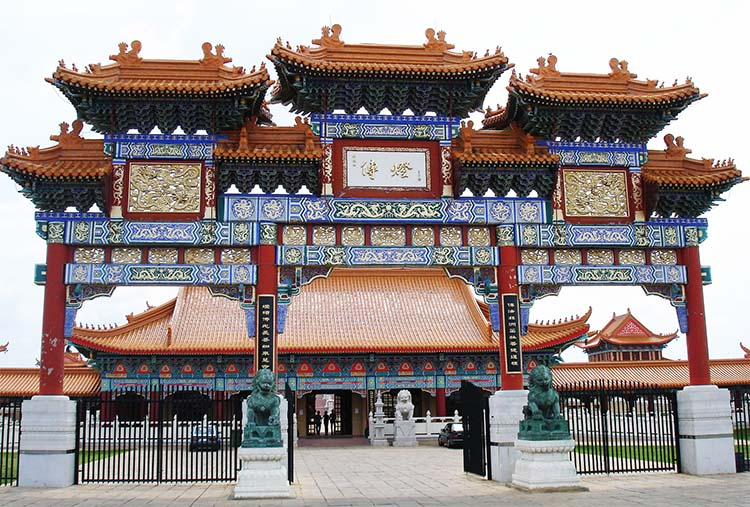 Nan Hua Temple, Bronkhorstspruit, South Africa